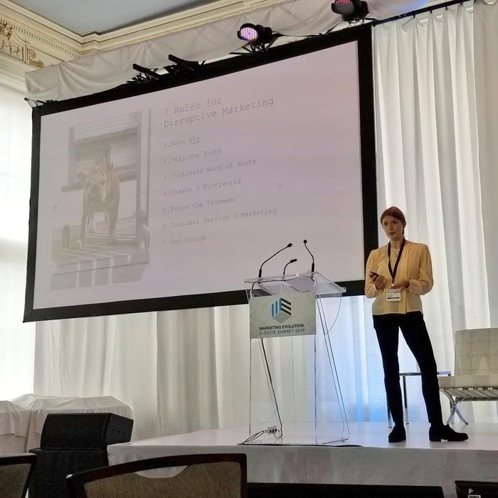 Emma Knight - Greenhouse - Disruptive marketing